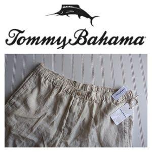 NWT Tommy Bahama Linen Shorts